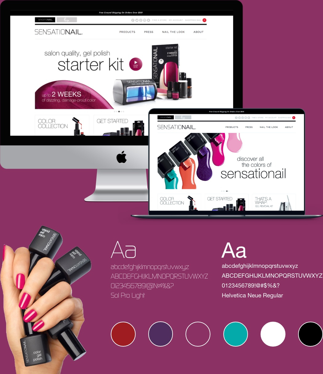 sensationail-website