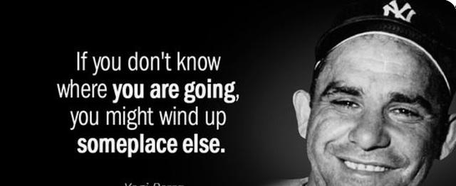 Yogi Berra quote