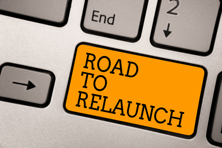 road to relaunch