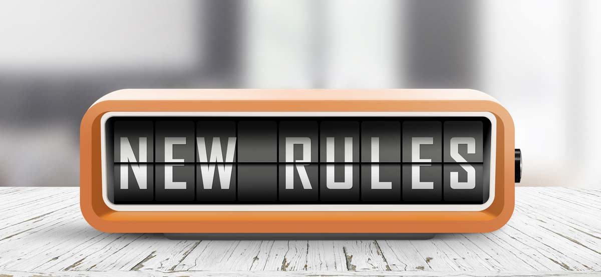 new rules for new normal