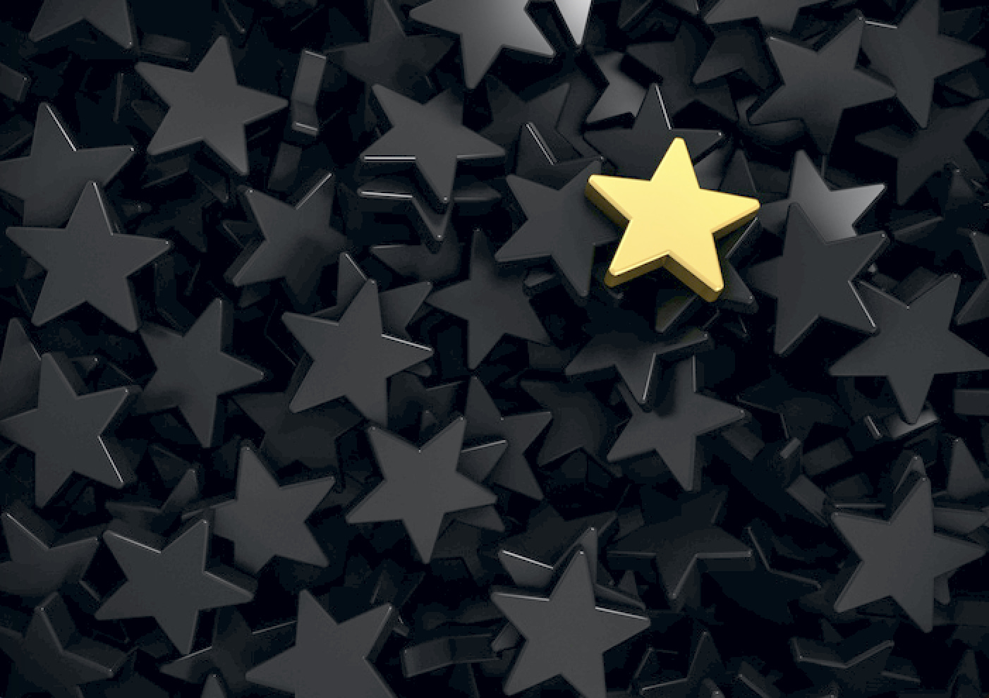 star signifying brand success