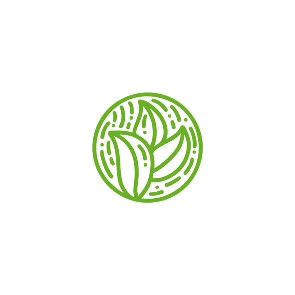 health and wellness branding icon