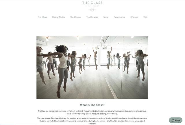 The Class website