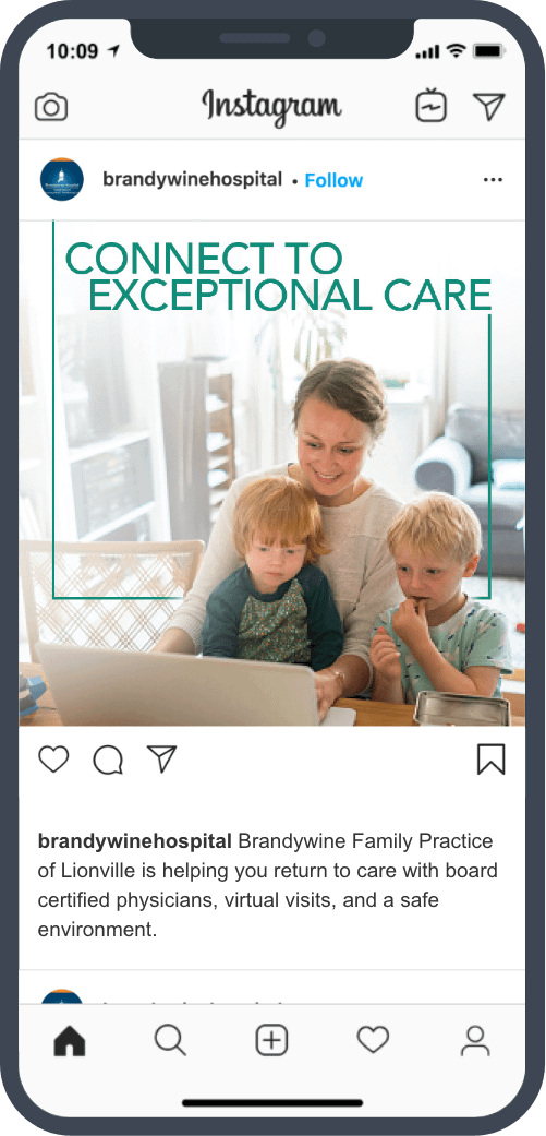 family on virtual care