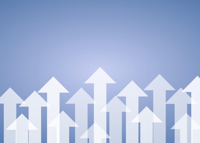 upward trajectory graph