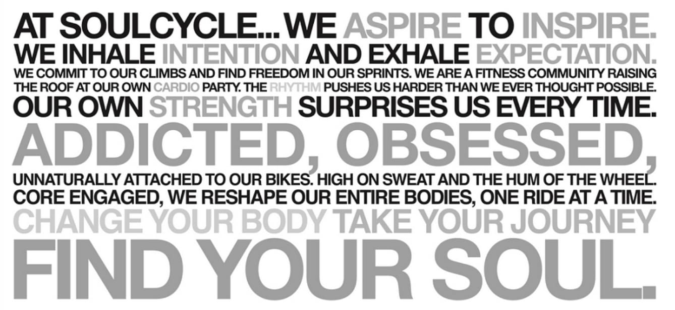 SoulCycle - Find Your Soul