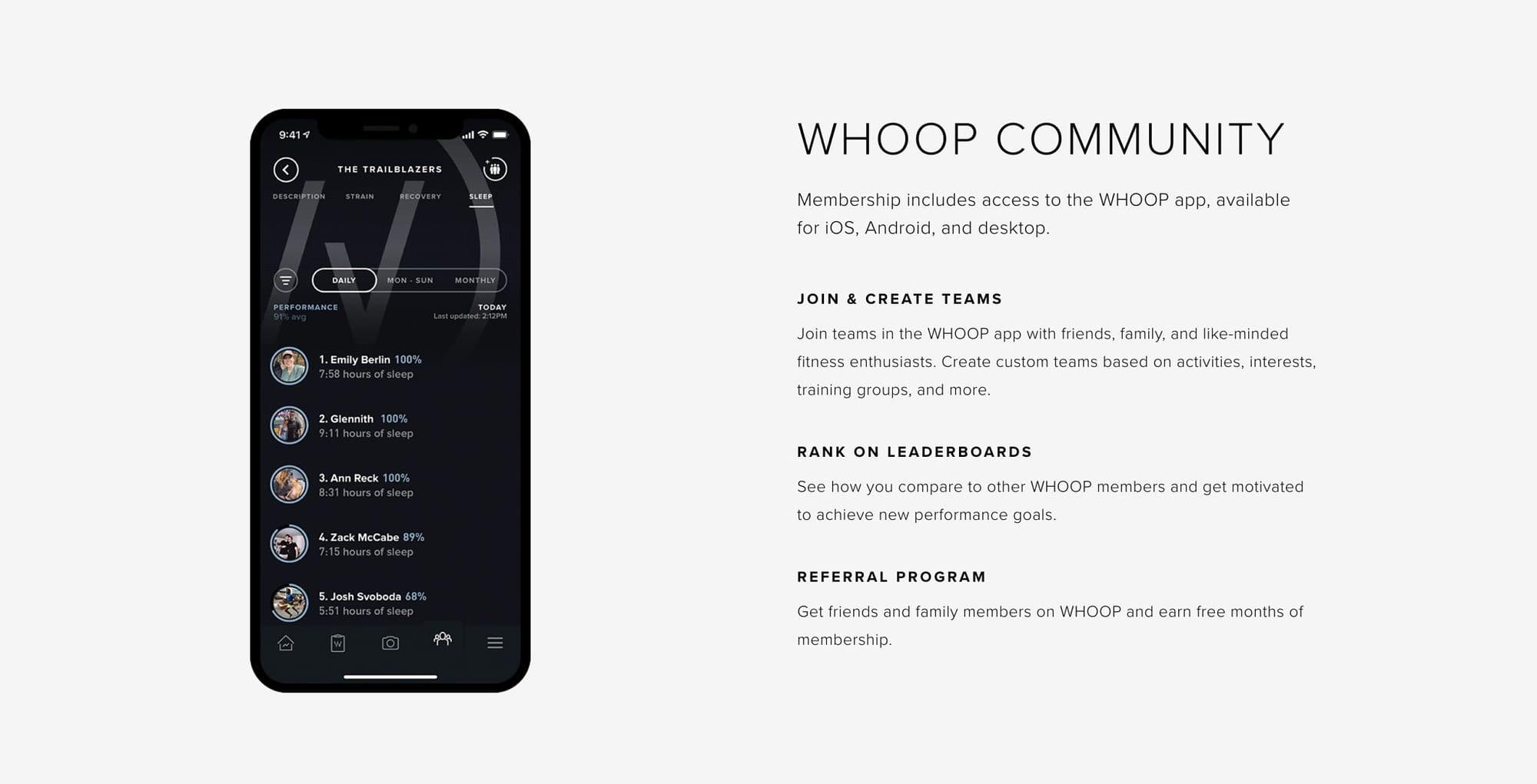 WHOOP Community