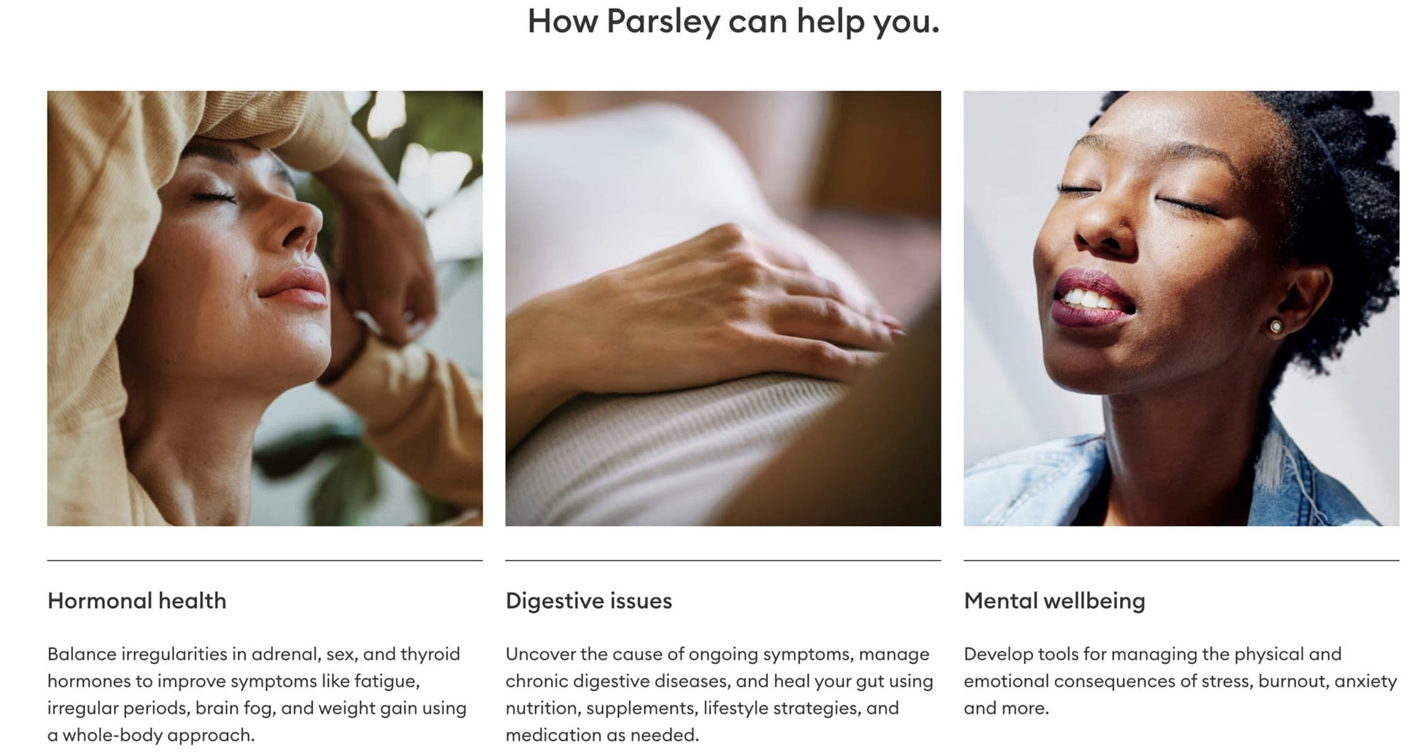 parsley health messages